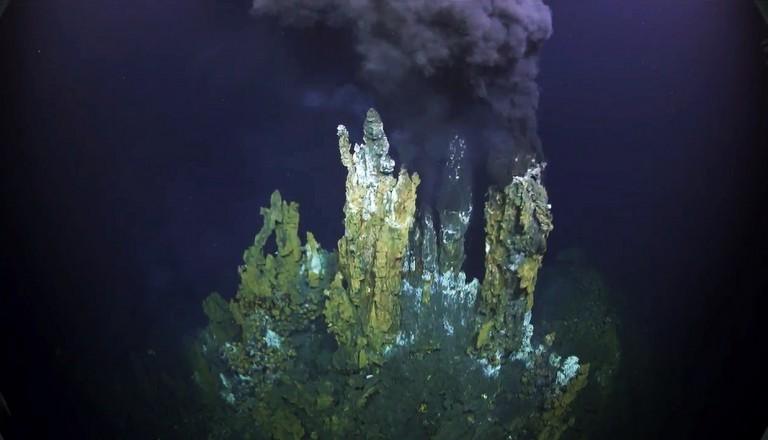 Screengrab of ROPOS dive