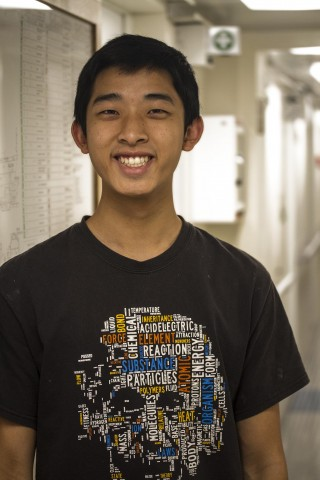 Caleb Hsu is the Student Opportunity participant for the Life Without Oxygen research cruise.