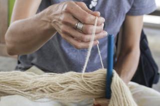 Schwengel-Regala knit detail