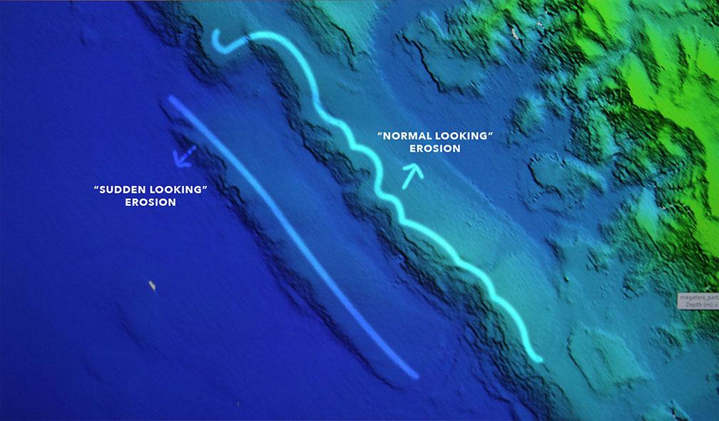 underwater landslides