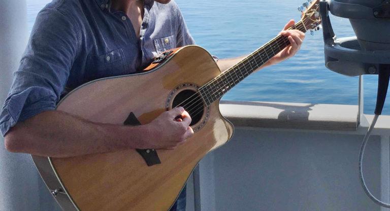 Ben Cosgrove guitar onboard