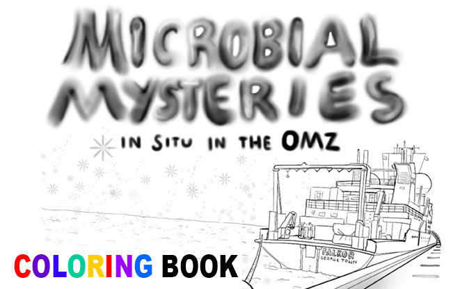 Microbial Mysteries Coloring Book Advert