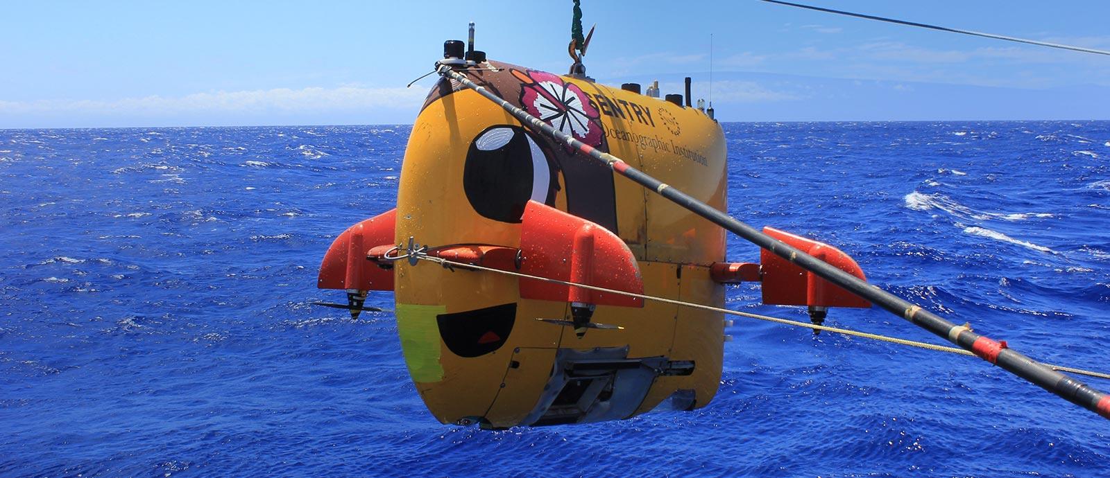 Autonomous underwater vehicle auv schmidt ocean institute