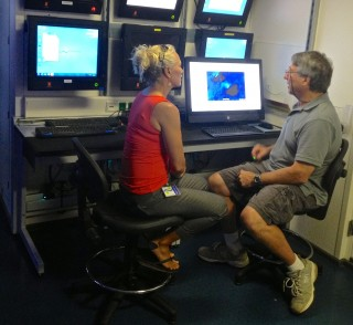 Kanesa Seraphin interviews Chief Scientist Chris Kelley for the Voice of the Sea program.