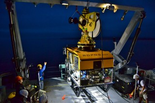The new satellite connection will improve SOI's video streaming capabilities for remotely operated vehicle expeditions and other research requiring large data transfers.