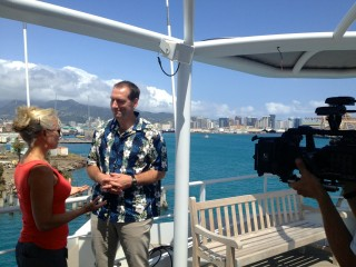 Kanesa Seraphin interviews Eric King, SOI director of marine operations, for Voice of the Sea.