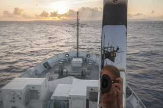 A selfie on R/V Falkor - students, picture yourself here.
