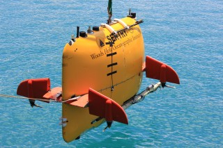 The star of the show AUV Sentry; this will be the second time Sentry will be deployed at Loihi Seamount.