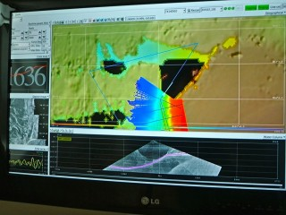 The mapping has begun, and the team is filling in more gaps in the seafloor maps.