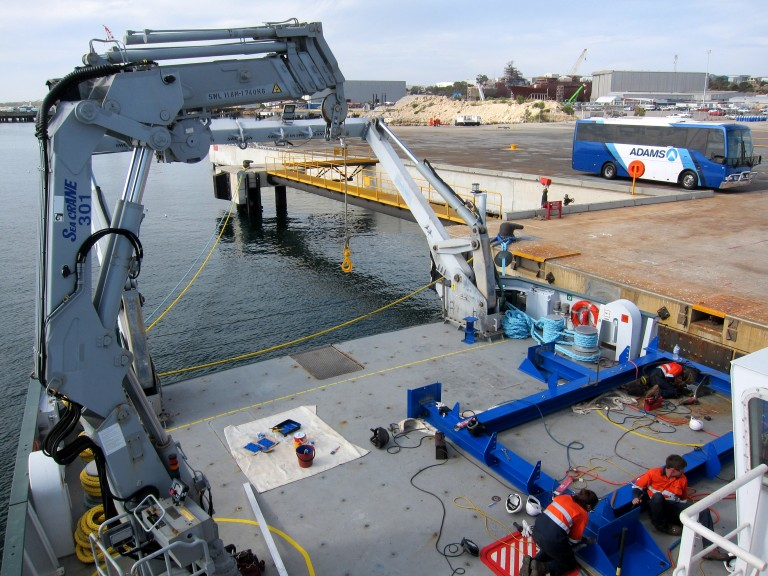 Launch And Recovery Systems / Handling Systems