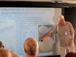 Perth Canyon cruise Chief Scientist Prof. Malcolm McCulloch gives a short introduction of the expedition.
