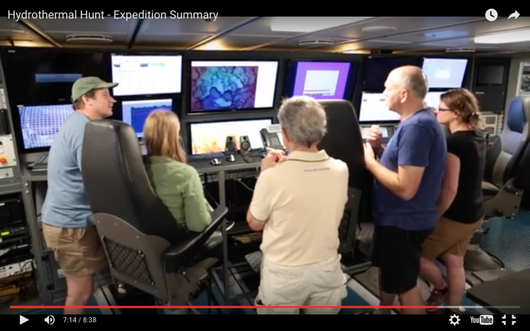 A diverse team of scientists are returning from a 28-day expedition onboard R/V Falkor that has more than doubled the number of known hydrothermal vent sites in the Mariana Back-arc region.Get a behind-the-scenes expereince of how the expedition took place.