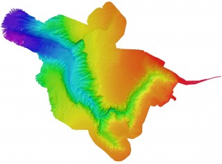 The first complete high-resolution multi-beam map of Perth Canyon.