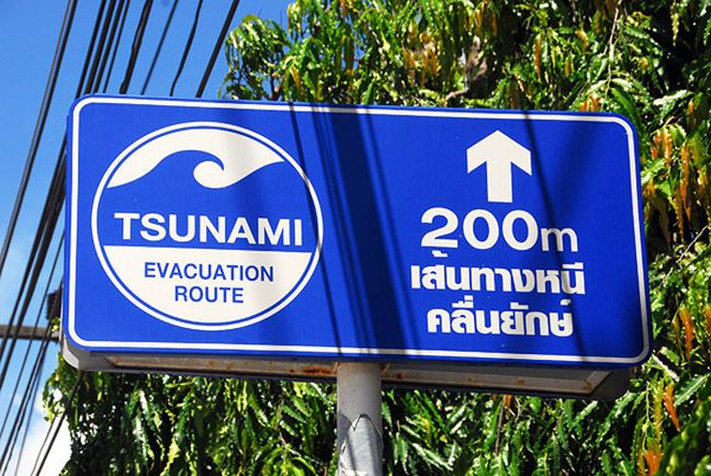 tsunami warning systems